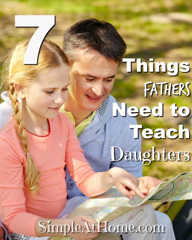 What should you be teaching your daughter?
