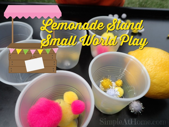 It's summer time and this learn and play lemonade stand makes for lots of fun.