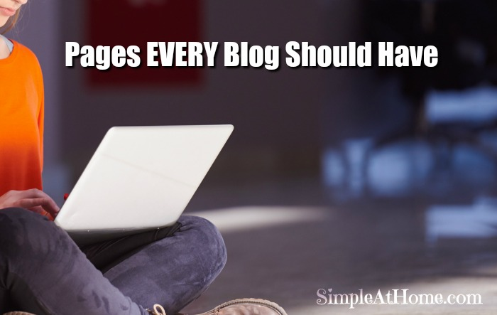 What pages does your blog need? What pages do I need for my blog?