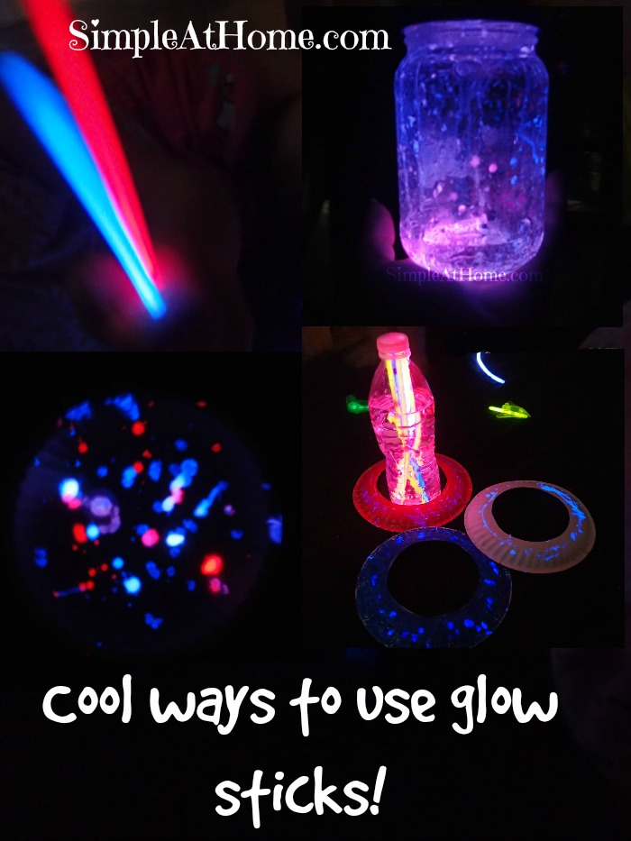 Learn and play with glow sticks.