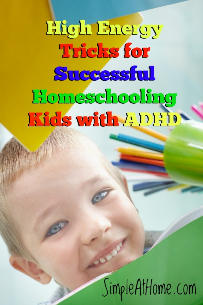Does your child have ADHD? Here are some tricks to help your child learn. Homeschooling kids with ADHD can be done.
