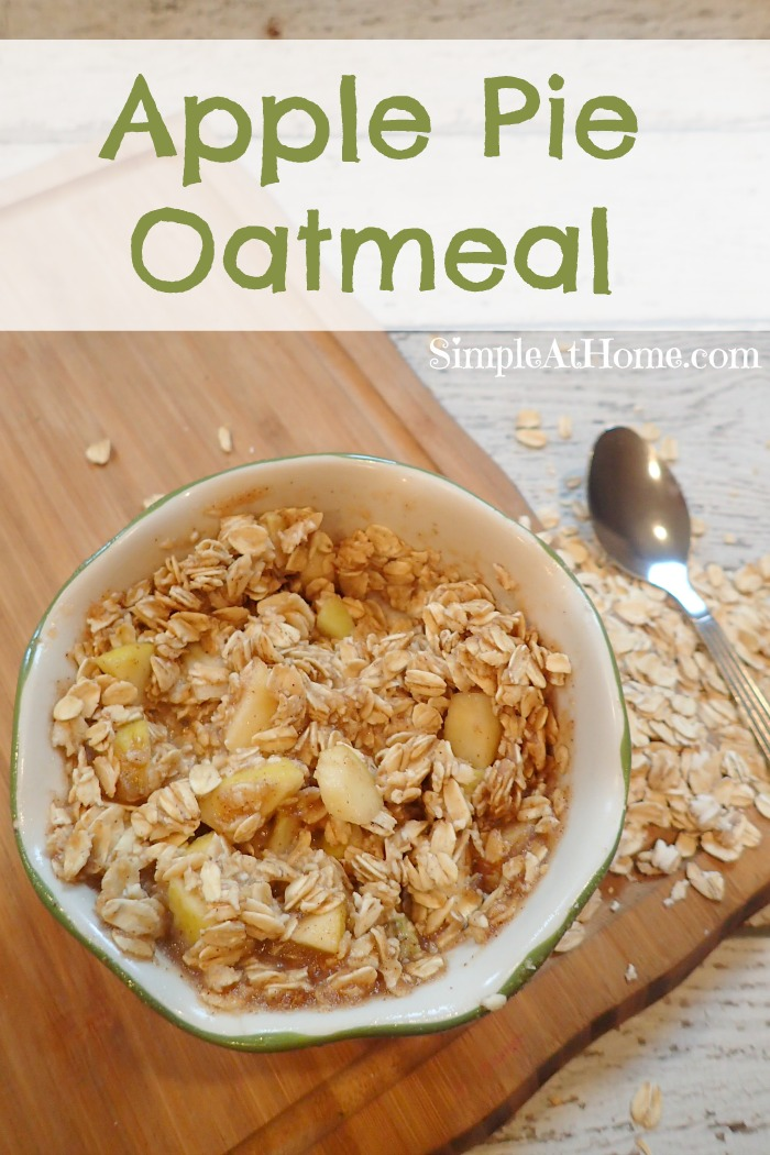 This oatmeal will perk up your morning and leave your house smelling amazing all morning long