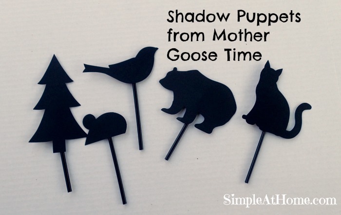 Mother Goose Time Shadow Puppets