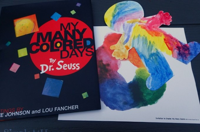 Invitation to Create: My Many Colored Days by Dr. Seuss