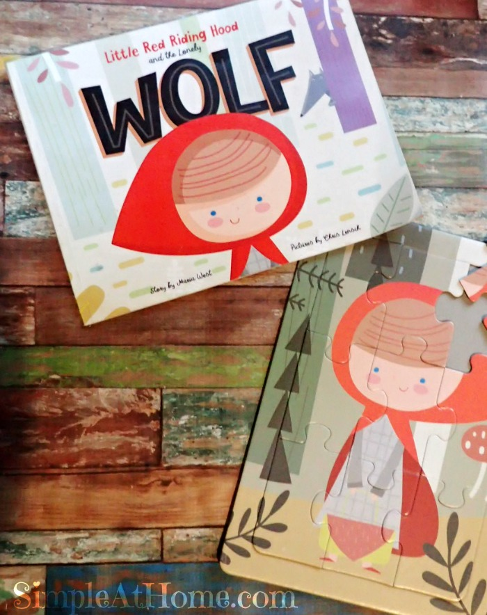 Little Red Riding Hood and the Lonely Wolf. Learn about friendship, differences, and how fear leads to exclusion. Kinda deep for a children's book #
