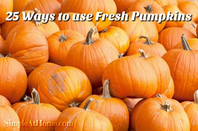 25 Ways to Use Fresh Pumpkins