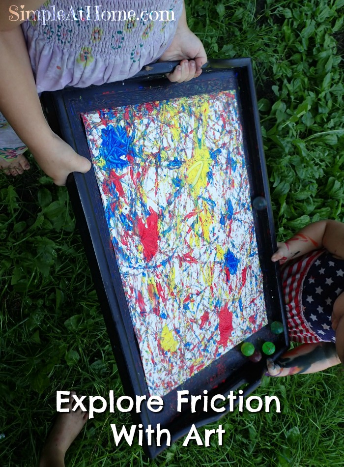 This fun exploration of friction is perfect for kids of all ages.