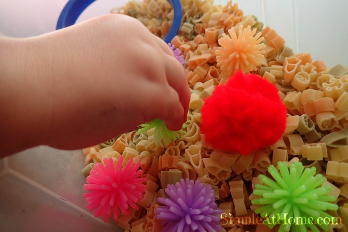 Easy Space Sensory Bin