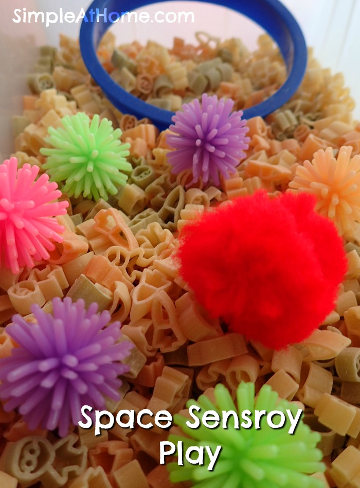 Simple Space Sensory Bin