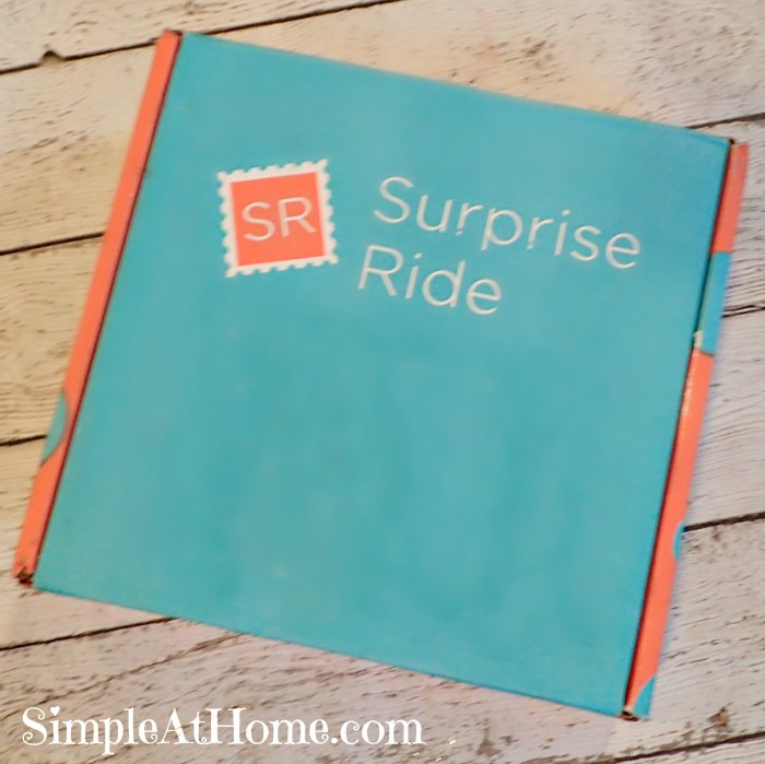 Surprise ride. Keep kids happy without a screen.