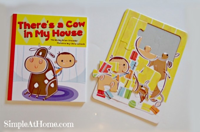 There's a Cow in my House by Brian Steckler