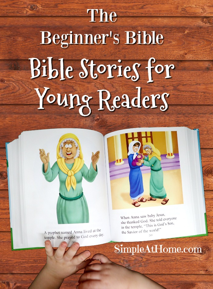 The beginners bible, Bible stories for young readers