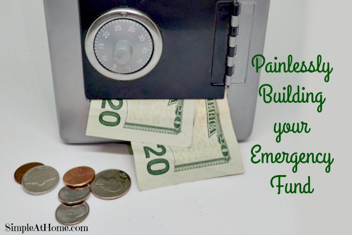 Build your emergency fun painlessly