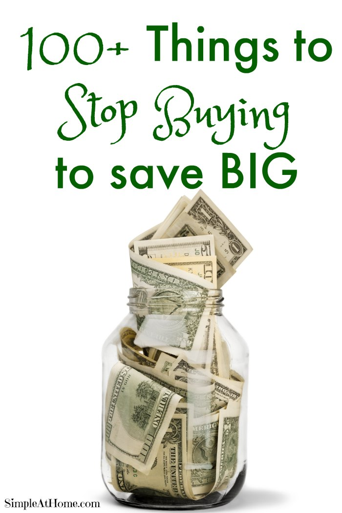 These are some great ways to save moneyt