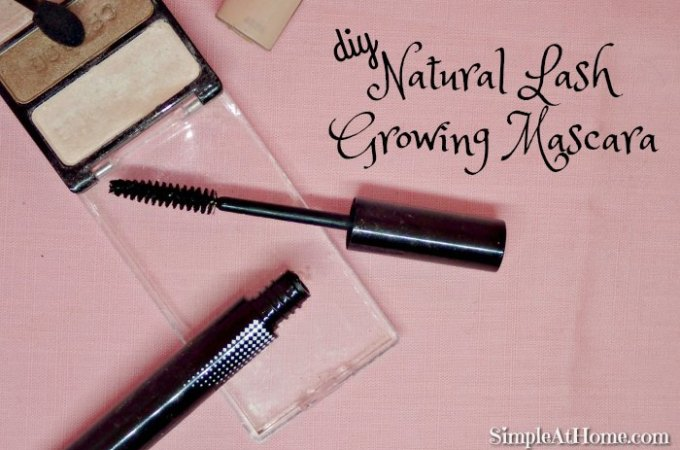 DIY Natural Lash Growing Mascara