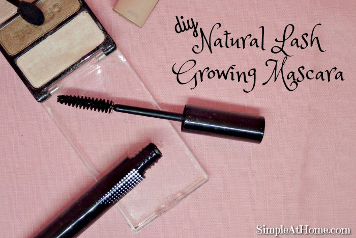 make your own Natural Lash Growing Mascara