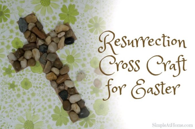 Resurrection Cross Craft for Easter
