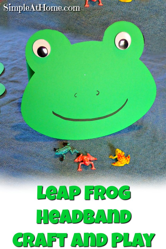 Leap frog headband craft and play