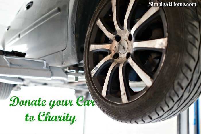 Why you Should Donate your Car to Charity