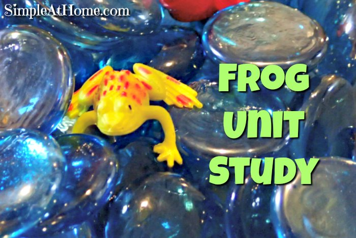 This frog unit study is great for all ages.
