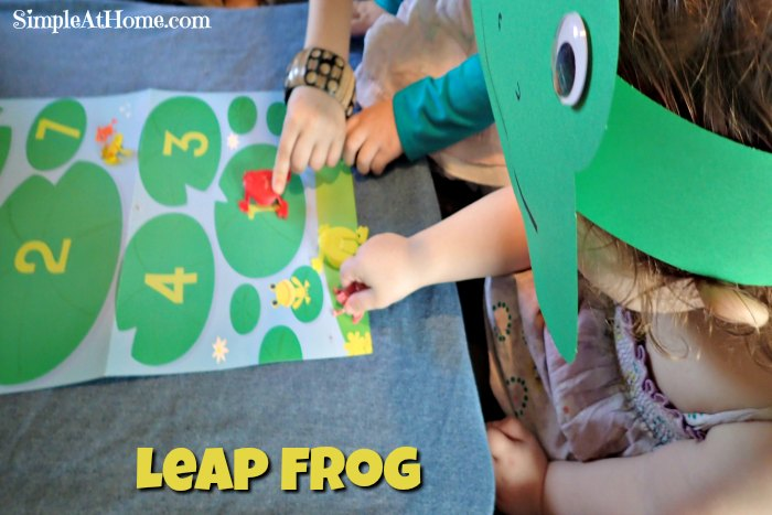 Leap frog craft and play