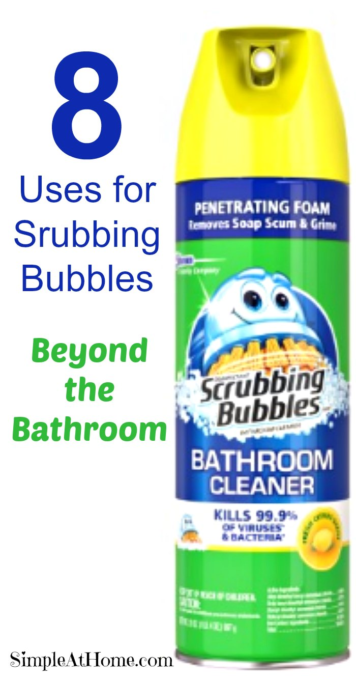 You will never look at scrubbing bubbles the same again.
