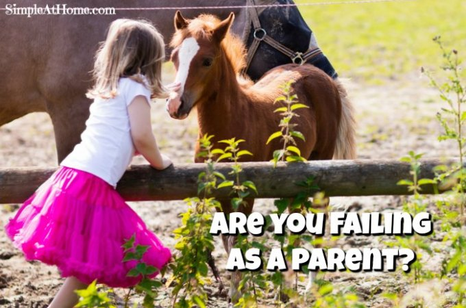 Feel like you're Failing as a Parent? You're Not.