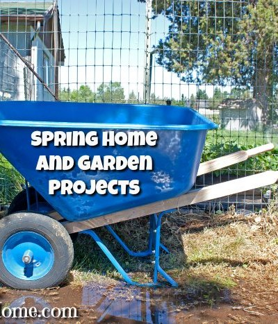 spring home and garden project list