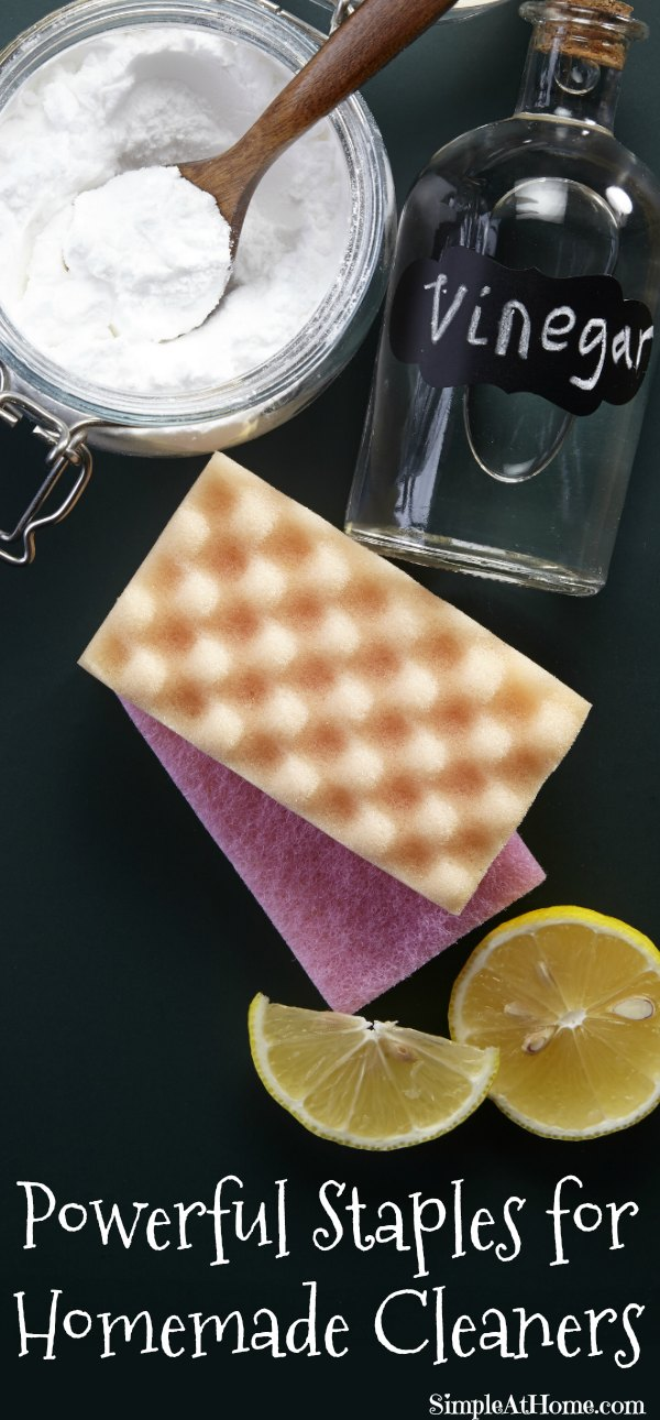 Powerful Staples for Homemade Cleaners