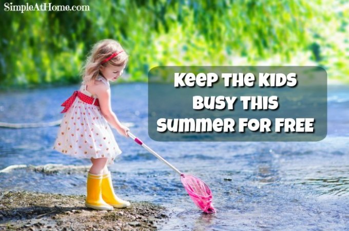 free ways to keep kids busy, Free activities for kids