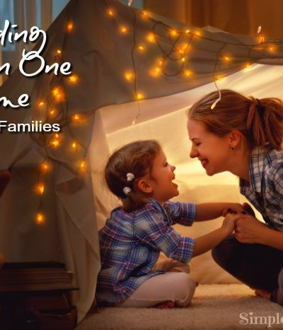 Finding time with your kids one one one when you have a large family