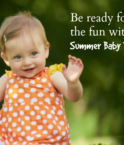 Be ready for adventure with your Summer Baby To-Go Bag