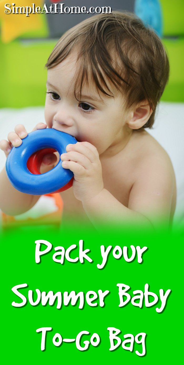 Pack your summer baby to-go bag and be ready for any adventure that comes your way + Grab a high value Luvs coupon. | parenting | diapers | baby | coupons | deals | #ad