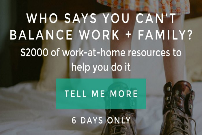 Involve your child in your home business