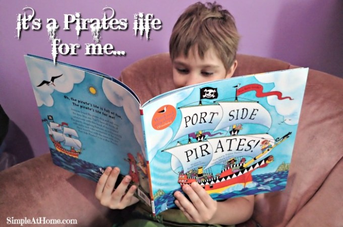 Pirate Treasure Hunt – M is for Map – Literacy and Play