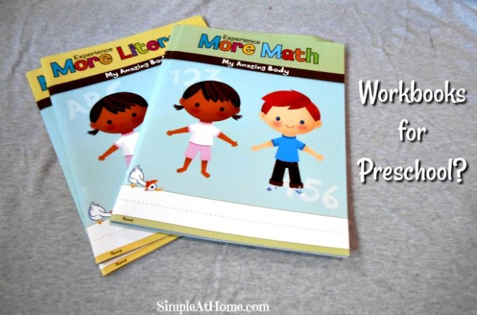 Workbooks for Preschool?