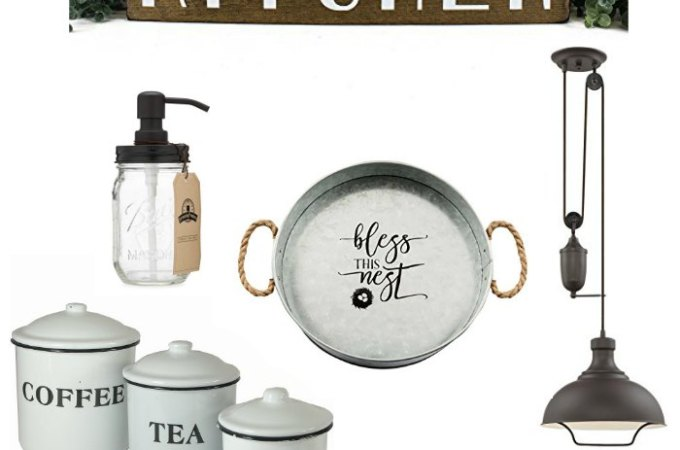 Cute Farmhouse Kitchen Finds