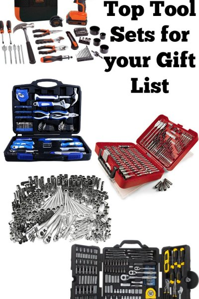 Looking for tool sets to give as gifts? I love these ideas!