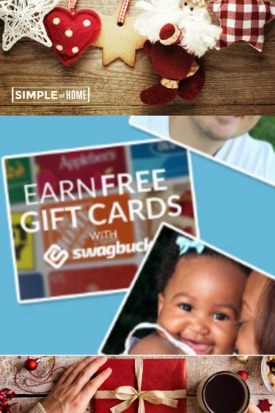 Earn gift cards to help pay for the holidays with Swagbucks