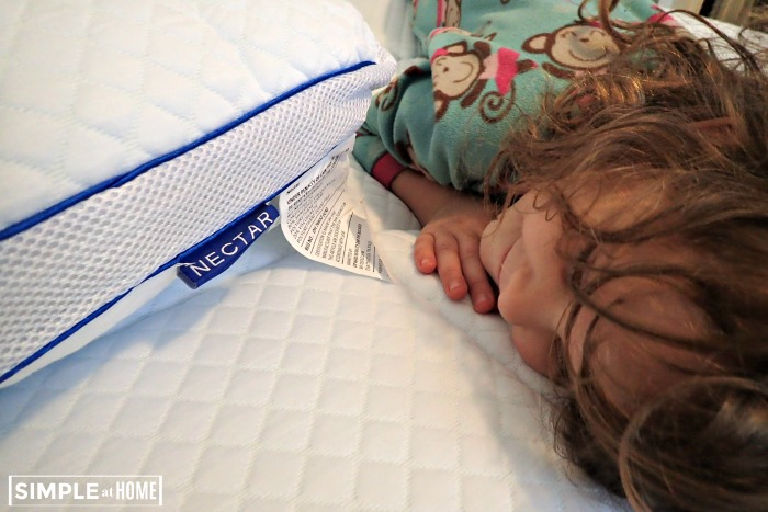 Nectar bed is perfect for helping kids get better sleep.