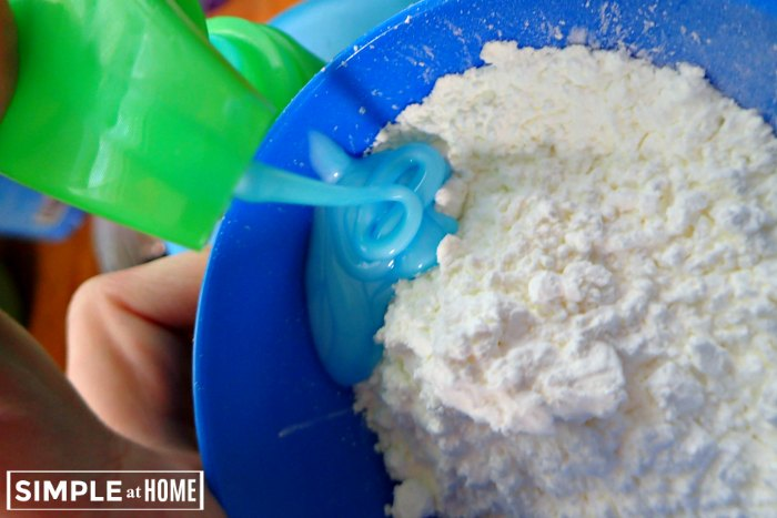 simple DIY silly putty