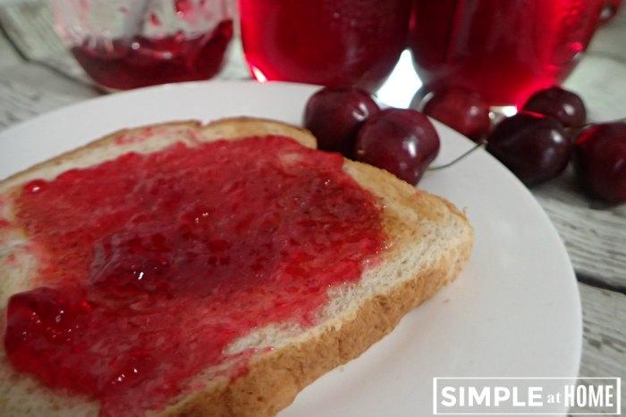 Simple Cherry Jelly