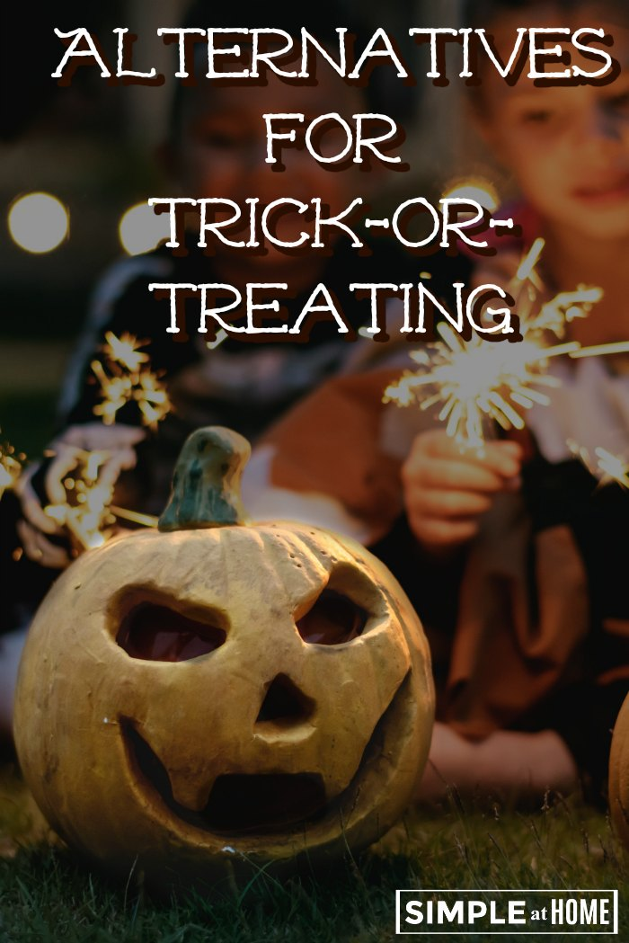 Looking for alternatives for trick or treating for Halloween? Here are a few great ideas