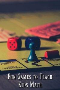 Fun Games to Teach Kids Math