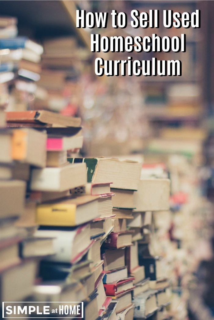 How to Sell Used Homeschool Curriculum