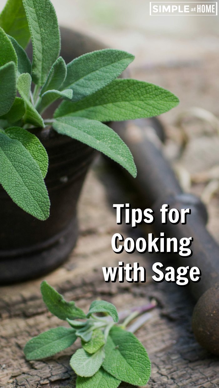 how to cook with sage