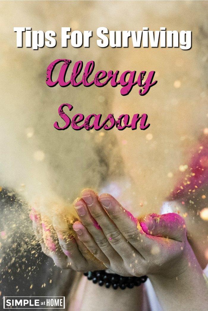 tips to survive Allergy Season