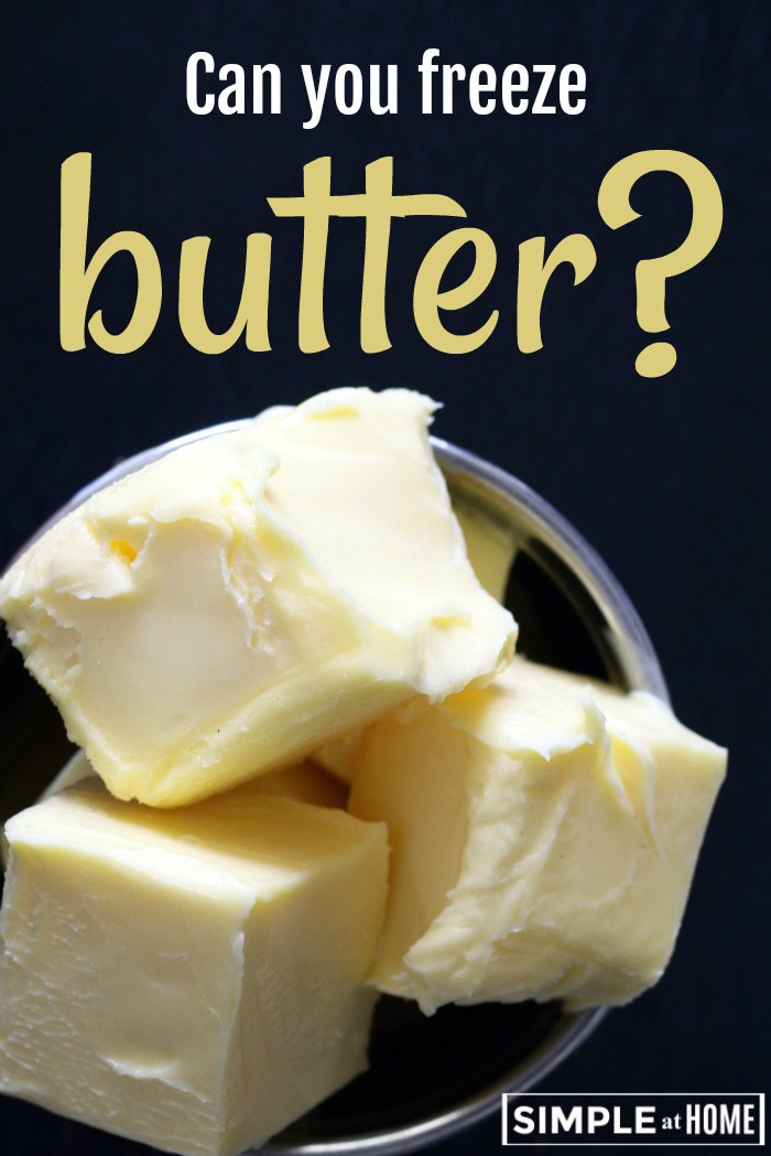 Can you freeze butter? How to freeze butter