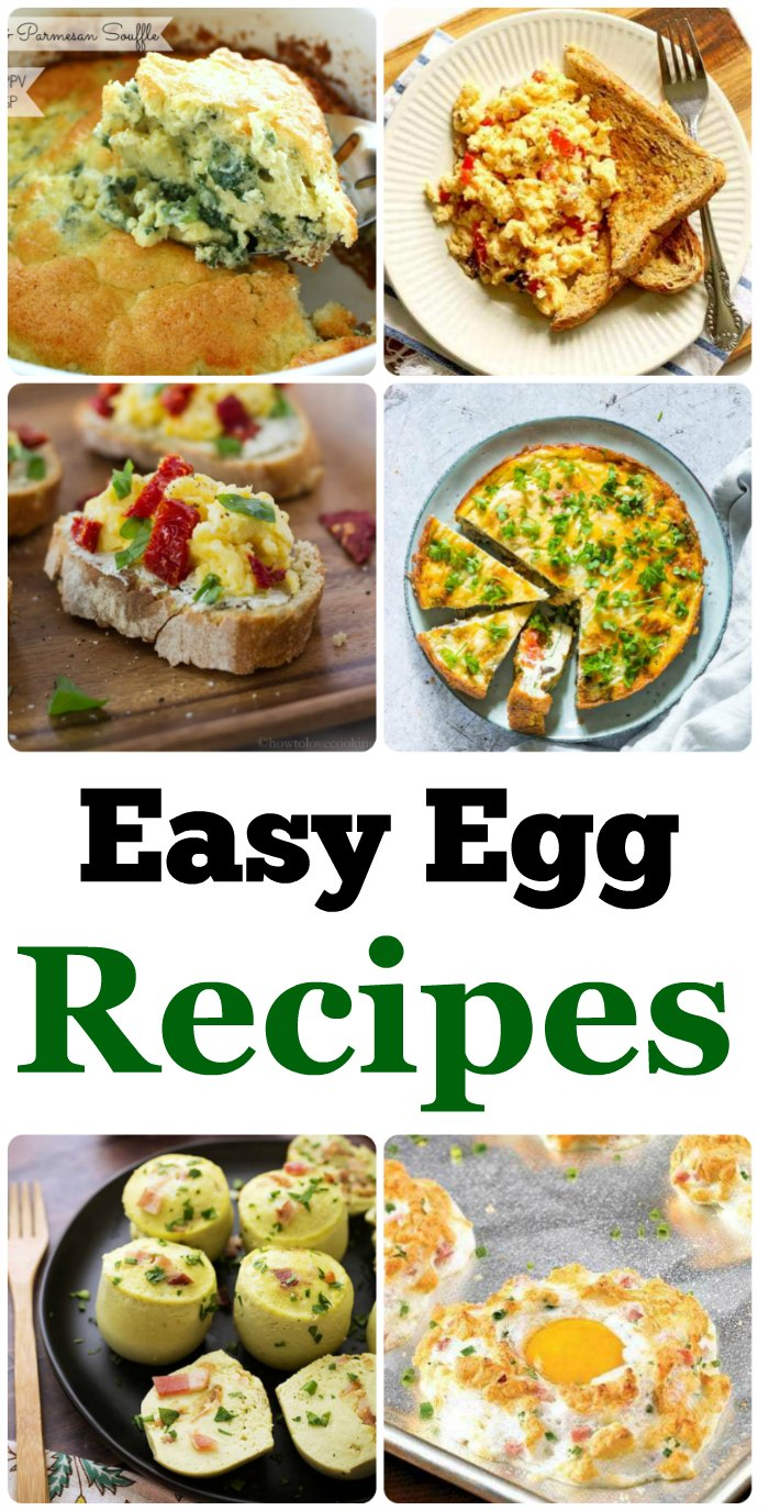 easy egg recipes for the whole family