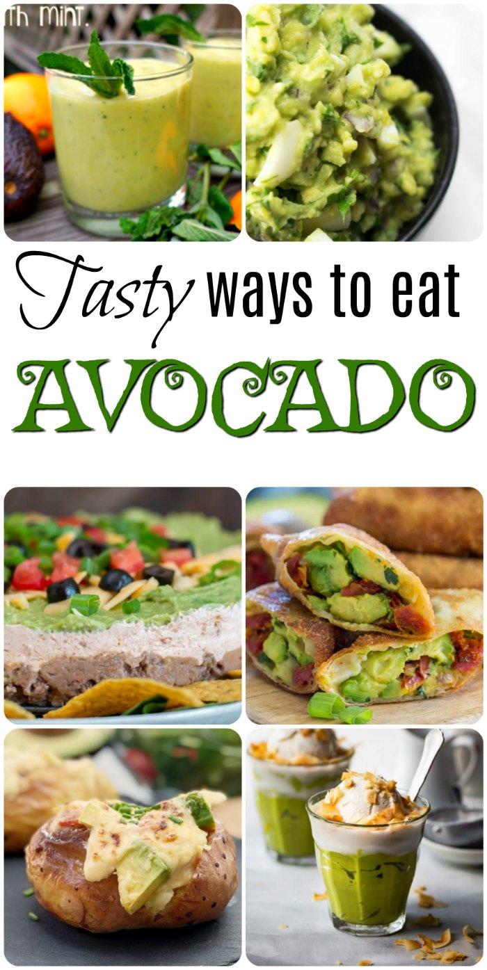 Tese avoacdo recipes will spice things up a bit.